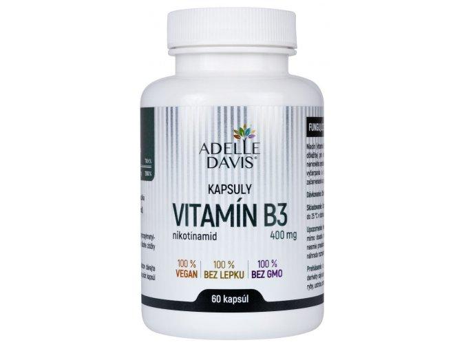 adelle davis vitamin b3 400 mg 60 kapsul