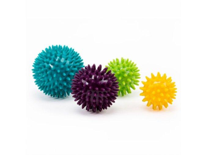 masazna lopticka spiky ball set 4 kusy sada