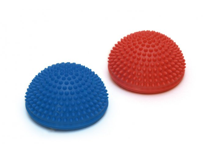 balancny jezkovia Spiky Dome modra cervena