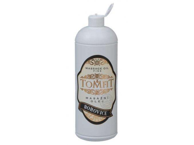 tomfit masazny olej mineralny borovica 1000 ml 13 0121