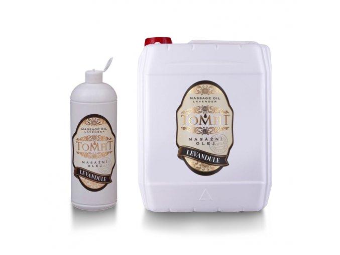 tomfit masazny olej mineralny harmancek 1000 ml  a 5l