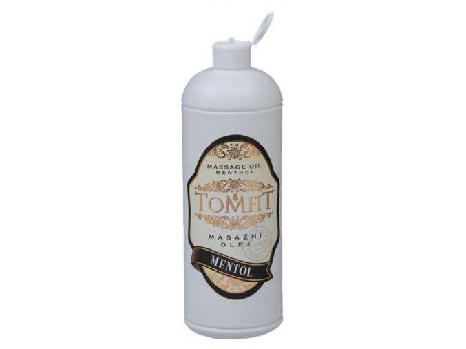tomfit masazny olej mineralny mentolovy 1000 ml 13 0130