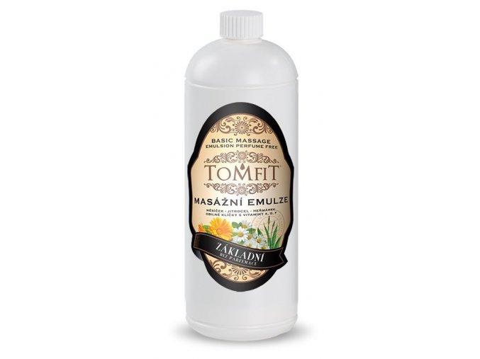 tomfit masazna emulzia zakladna bez parfumacie 1000ml 15 0057