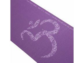 podlozka na jogu leela om fialova3