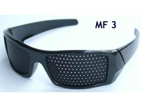 dierkovane okuliare trener oci vision fix cierne elegant mf3