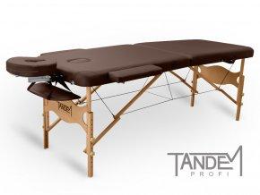 skladaci masazny stol tandem profi w2d cokoladova