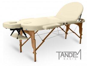 skladaci masazny stol tandem basic 3 oval kremova