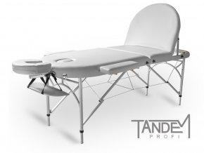 skladaci masazny stol tandem profi a3d oval biela