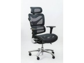ergonomicka kancelarska stolicka zdravotna spinergo manager cierna 1