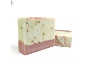 mirach levandulove mydlo s bambuckym maslom a ruzovym bahnom