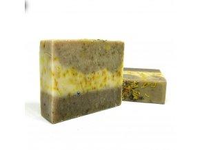 mirch mydlo s bambuckym maslom salviou, nechtikom a zihlavou