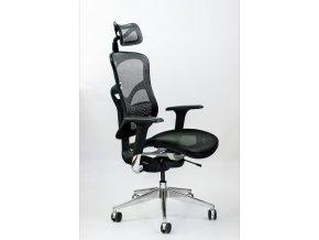 ergonomicka kancelarska stolicka zdravotna spinergo business cierna