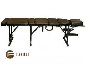 skladaci masazny chiroprakticky stol fabulo chiro 180 cierna