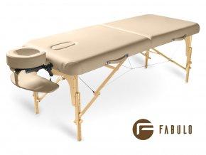 skladaci masazny stol dreveny fabulo guru kremova otv