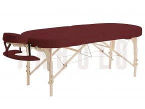 Masážny stôl - skladací Fabulo GURU Oval Set