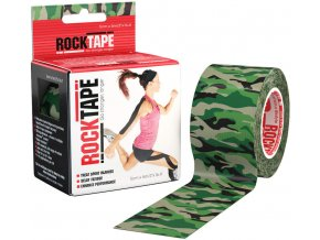 kineziologicky tejp rocktape green camouflage