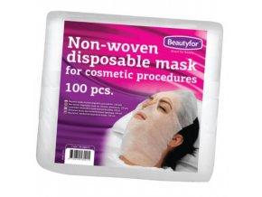 Jednorázová maska z netkané textilie Beautyfor (100ks) 3