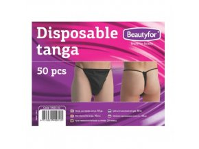 Jednorázové pánské tanga z netkané textilie Beautyfor® (50 ks)