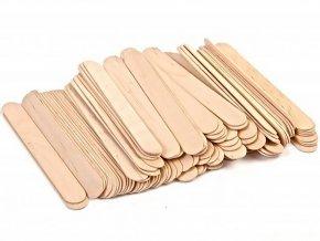 Jednorázové dřevěné špachtle na vosk Beautyfor® (100 ks) 1