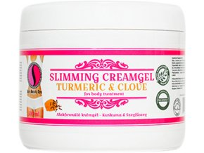 SBS227 masazny krem na formovanie tela sara beauty spa kurkuma klincek turmeric clove slimming creamgel 500ml sbs227