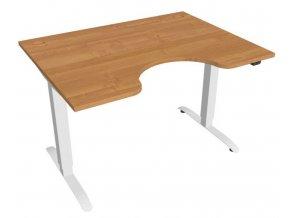 Elektricky výškově stavitelný stůl Hobis Motion Ergo - 2 segmentový, standardní ovladač