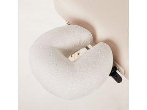 podlozka na podhlavnik wuwei textilna vanilkova kremova