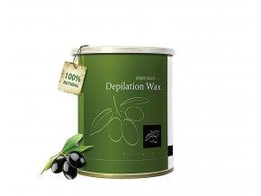 depilacny vosk v plechovke simple use olivovy