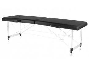 skladaci masazny stol active simple alu cierny