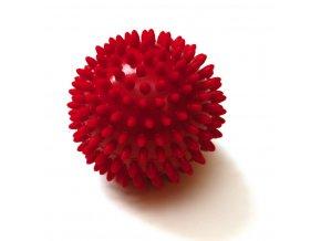 masazna lopticka jezko Sissel Spiky Ball makka akupresurna cervena 1