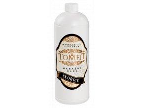 tomfit masazny olej mineralny skorica 1000 ml 13 0169