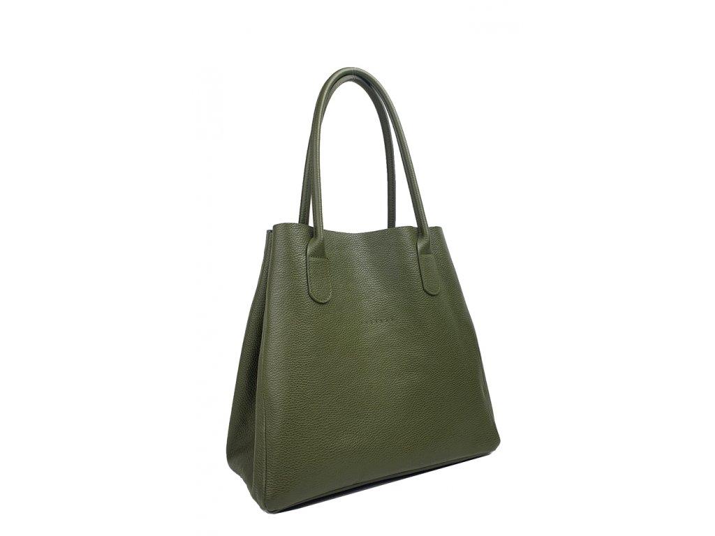Kožená kabelka červená (2)