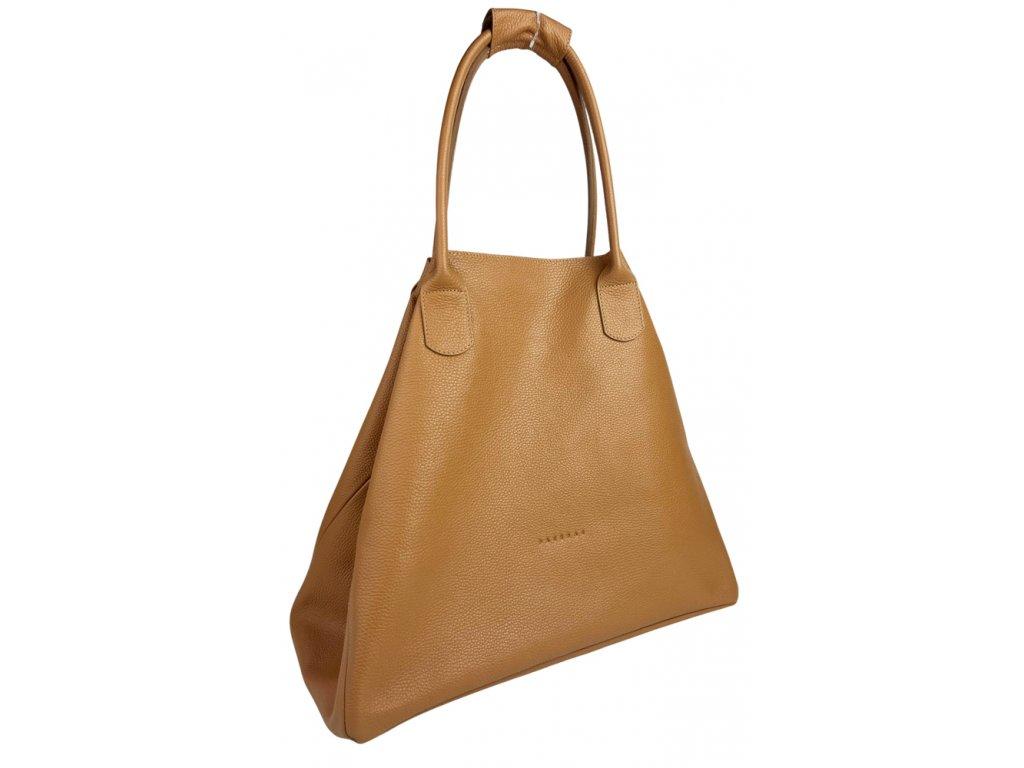 Kožená kabelka šedá (2)