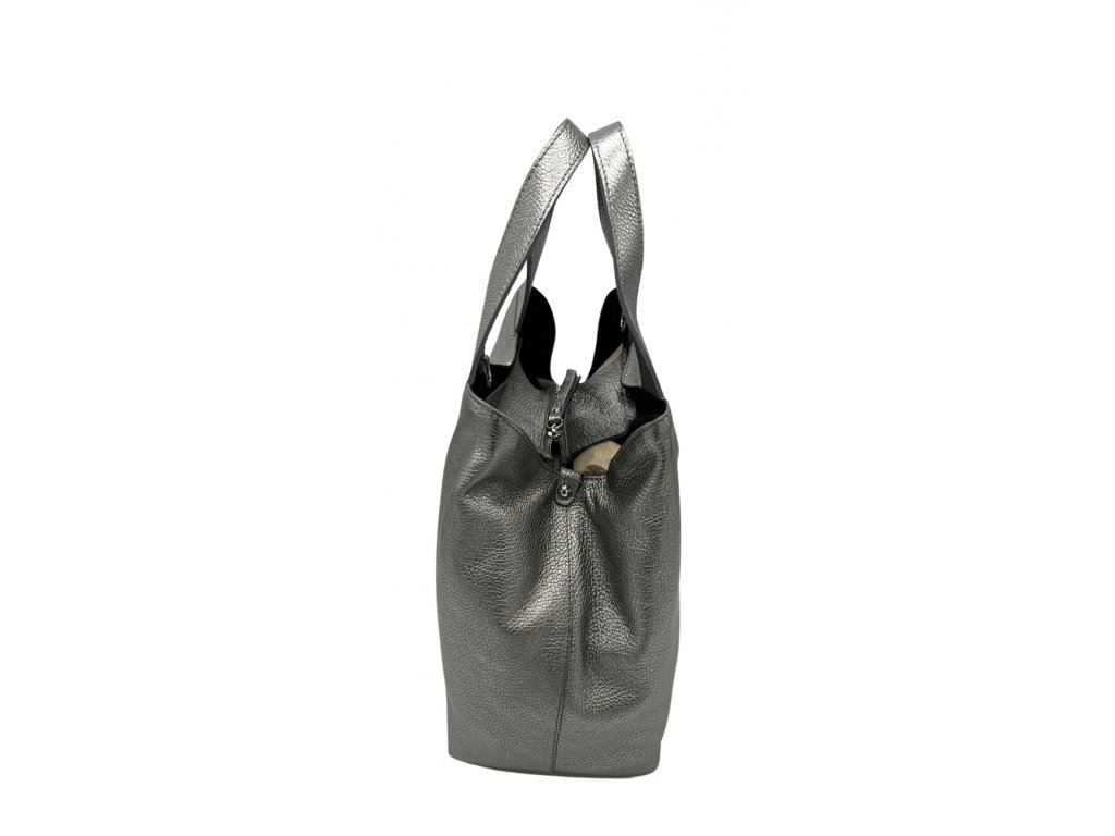 Kožená kabelka Sofi zlatá dolaro