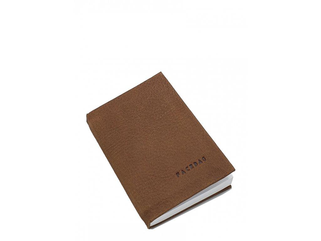 Kožený zápisník malý černý (2)