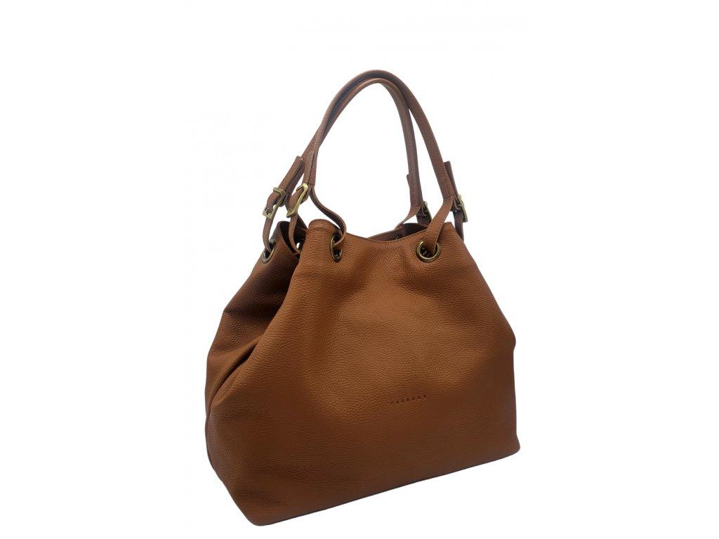 Kožená kabelka Laura cuoio