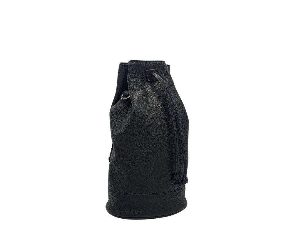Kožený batoh 7067 černý dolaro