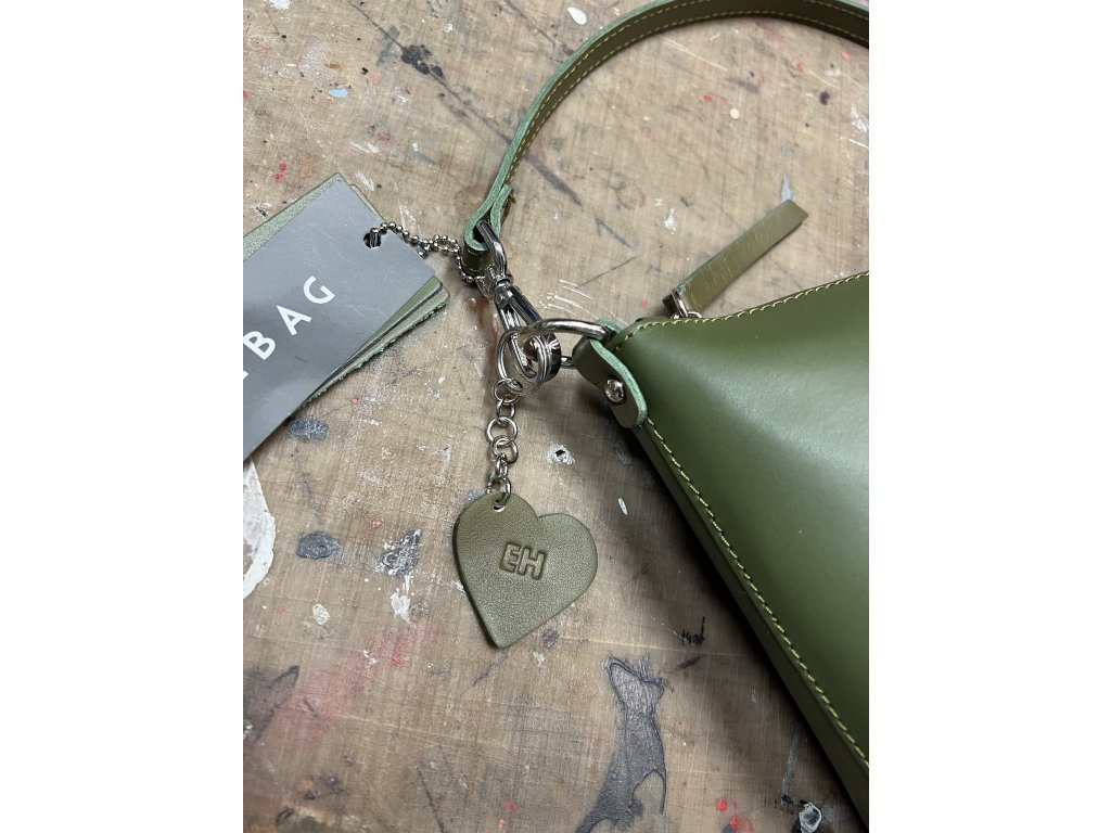 Kožená kabelka Rachel bílá oboustranná