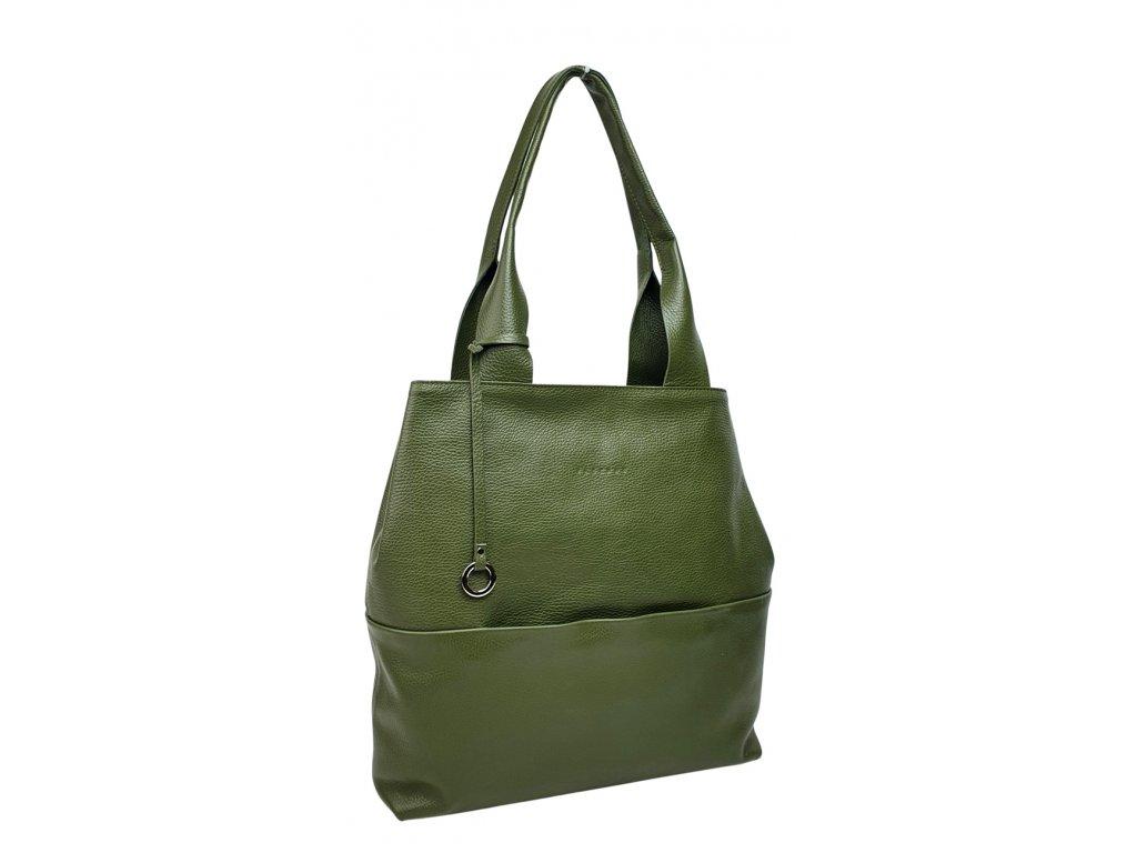 Dámská kabelka Gina olivová