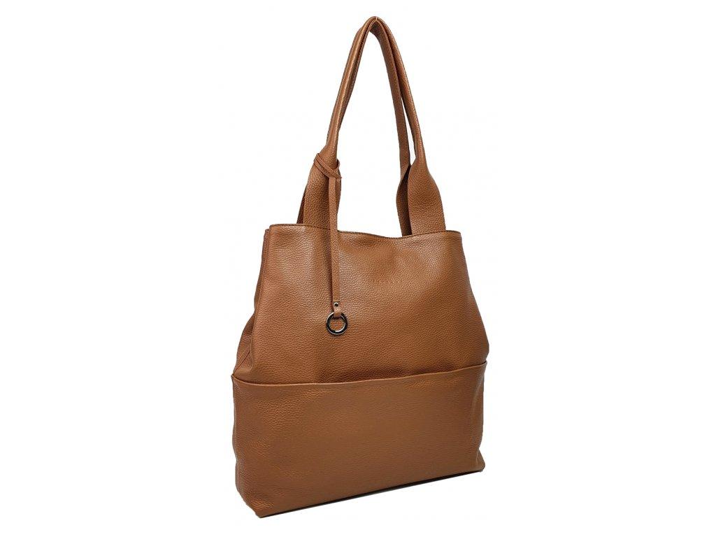 Dámská kabelka Gina cuoio