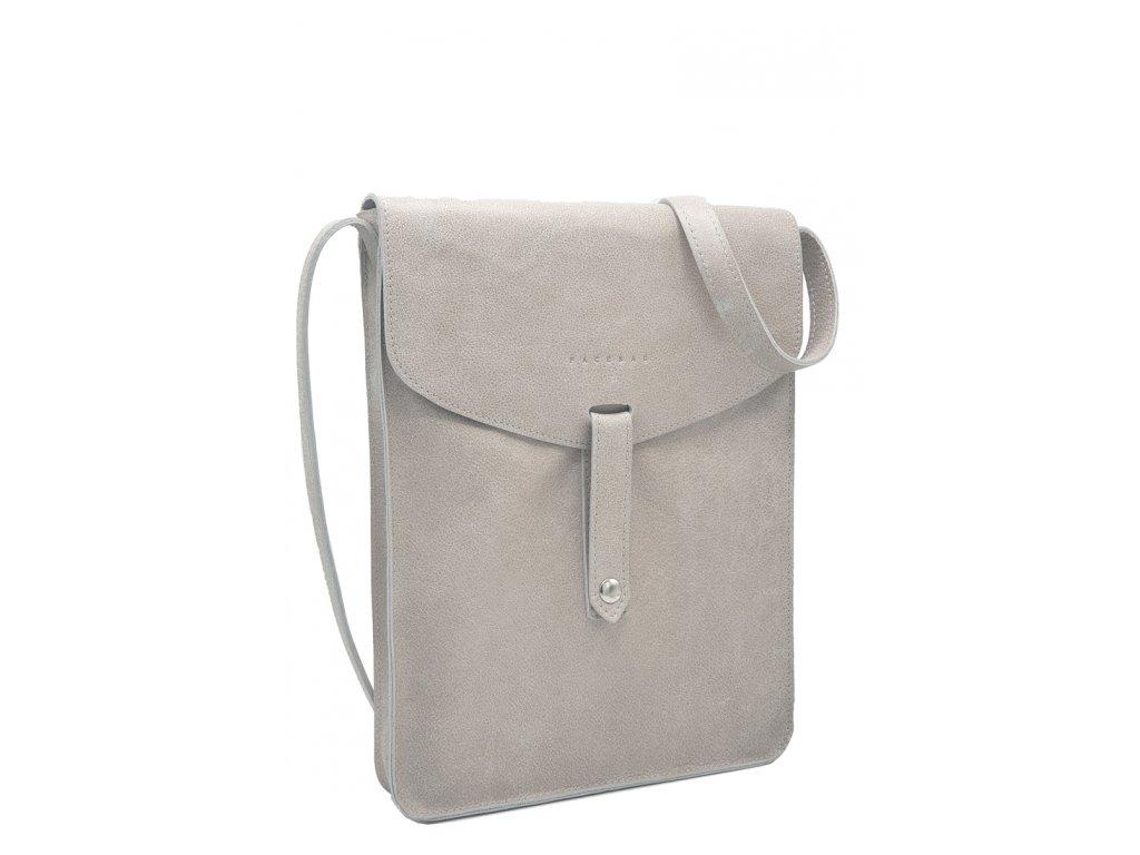 Kožená taška béžová (3)