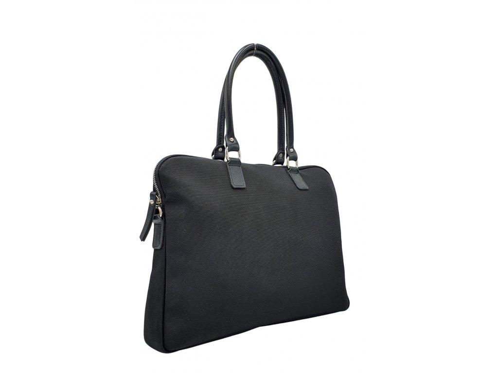 Polokožená kabelka Gaya L černá