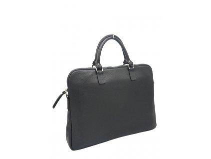 Kožená kabelka Gaya S šedá