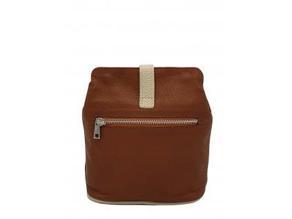 9603 damska kozena kabelka facebag anna s taupe smetanova 1150x1200 hnedobezova