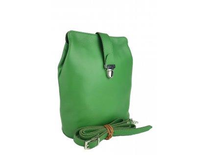 9603 damska kozena kabelka facebag anna s zelena hladka 895x1300