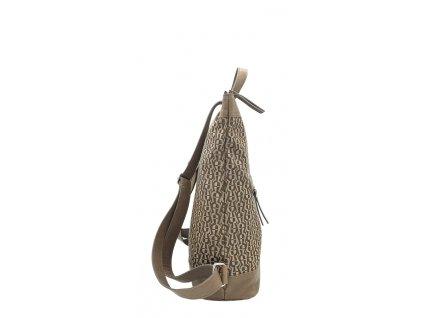 polokožený batoh černý (1)