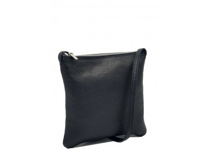 Kožená crossbody kabelka černá dolaro Lola 7021 (2)