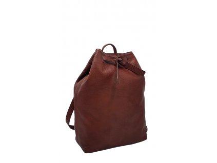 Kožený batoh vínový vintage Elma 8008 (1)