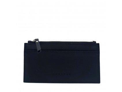 Kožená peněženka NORA černá