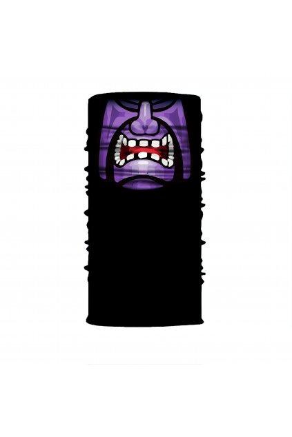 Faceshield fialovy demon