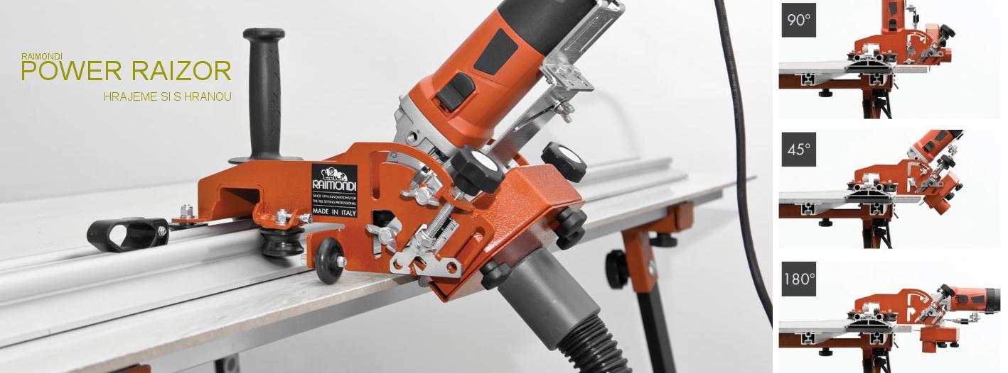 Power Raizor - elektrická řezačka a frézovačka obkladů a dlažeb
